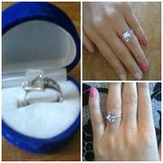 Серебренное кольцо с камнем с красивым футляром в подарок!!!