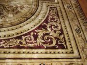 большой шелковый турецкий ковер